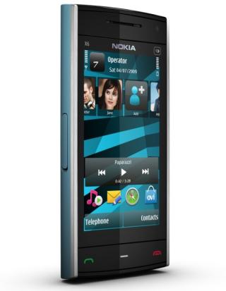 2010 Nokia X6