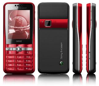 2008 Sony Ericsson G502