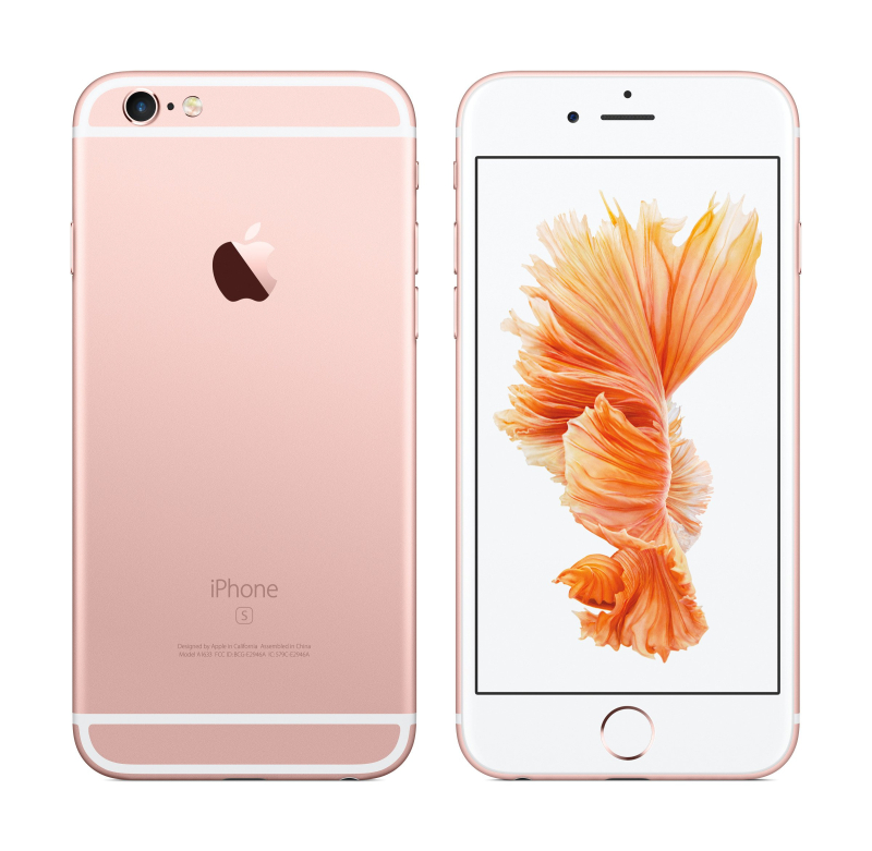2015 Apple iPhone 6S rose gold